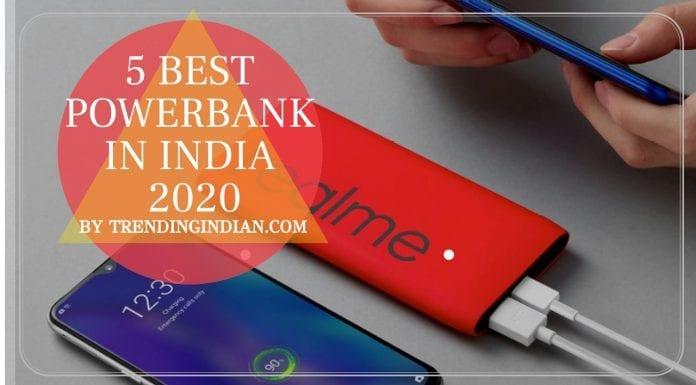 5 Best power bank in india 2020 - ( 10000mAh – 20000mAh )