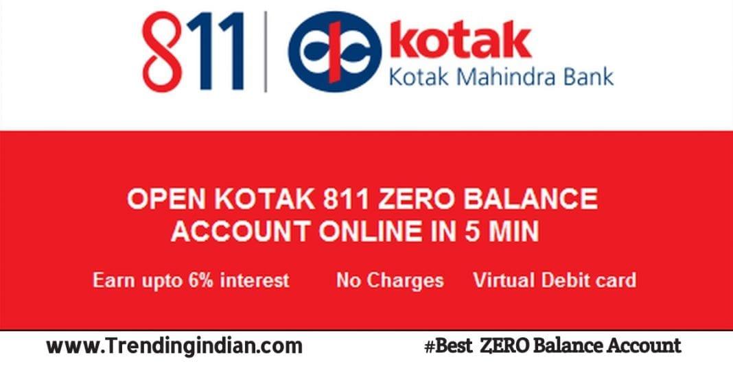 kotak 811 Account – Features, Benefits, Zero Balance App